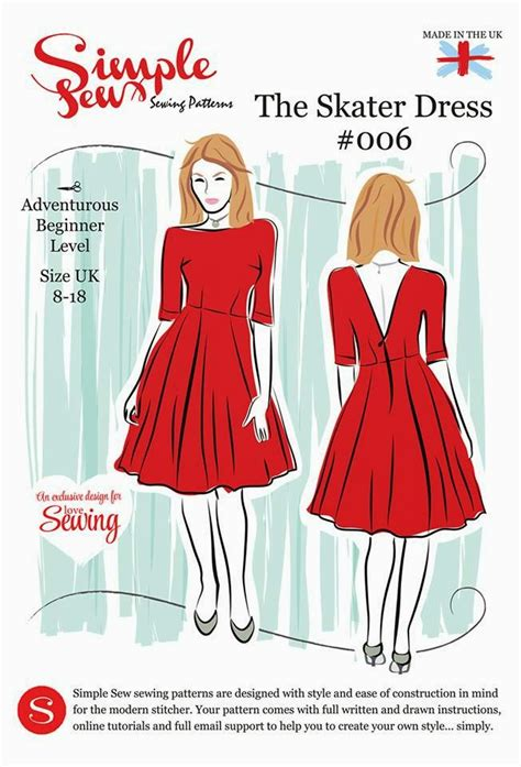 sewing pattern simple dress seasonal stitching the magnificent thread
