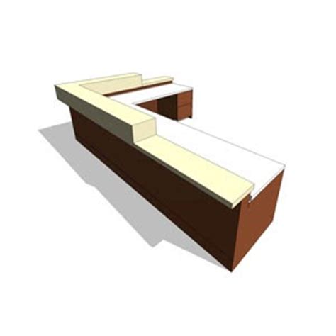 Free Reception Desk Revit Components Free Family Reception Desk