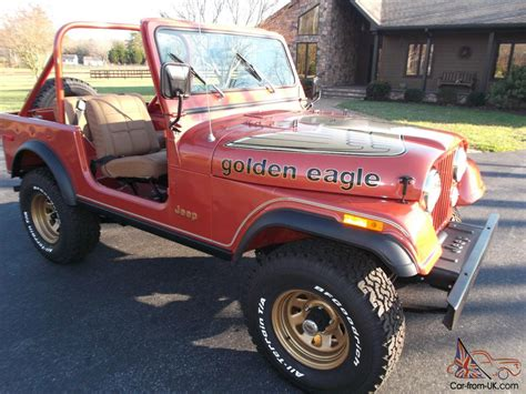 jeep cj golden jeep cj 7 golden eagle all original low miles