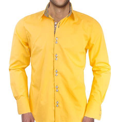 light yellow mens dress shirt mens yellow shirt artee shirt