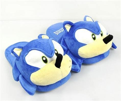 sonic slippers best sonic slippers blue plush doll 11 inch plush