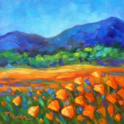 colorful landscapes paintings by theresa paden colorful contemporary