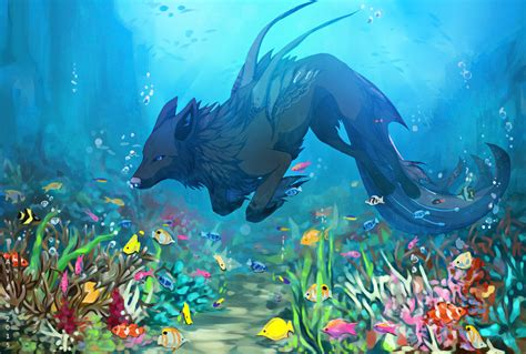 coral reef by aviaku on deviantart