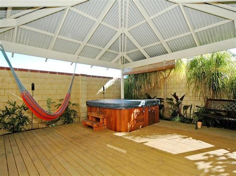 outdoor living design with spa from a real australian home