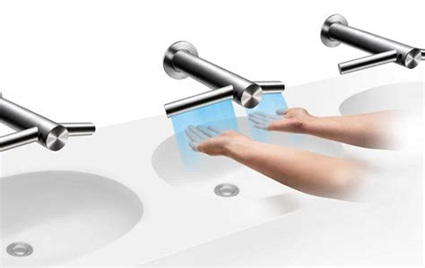 dyson airblade tap optimizes our entire washing