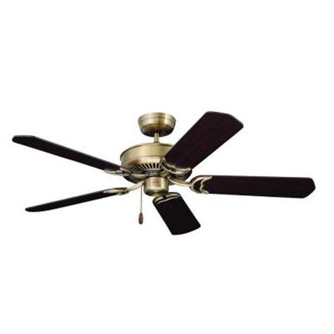 zephyr ceiling fan illumine zephyr 52 in antique brass indoor ceiling fan