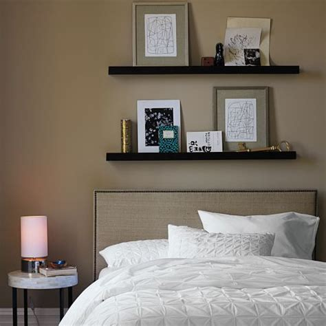 picture ledges from ikea for the master bedroom wall interior design center inspiration