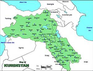 Iraq And Syria Map by Kurdistan Map Syria Turkey Iraq Amp Iran