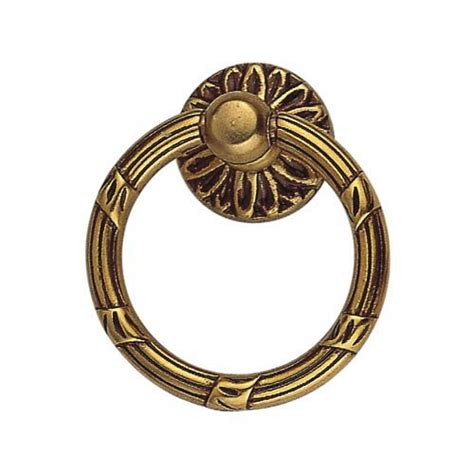 Gold Ring Drawer Pulls by Outdoor