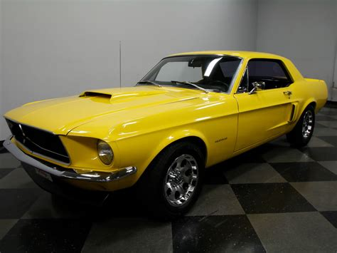 mustang car collection ford mustang 1967 gelb nr classic car collection stuttgart