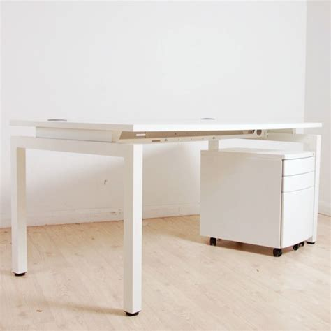 white standing desk flex new slim white free standing desk 0 0