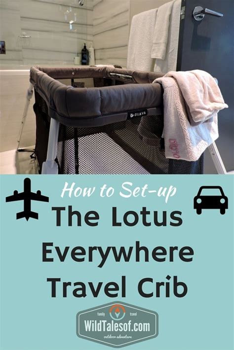 how to set up guava family s lotus everywhere travel crib