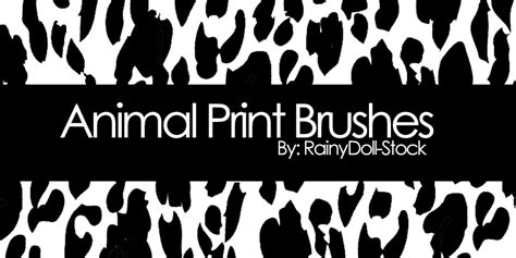 zebra pattern photoshop brushes animal print brushes by rainydoll stock on deviantart