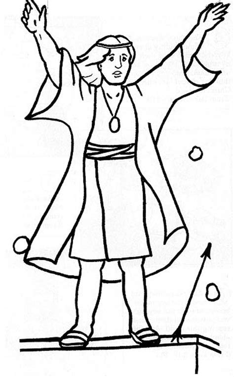 lds coloring pages samuel the lamanite book of mormon stories coloring page friend
