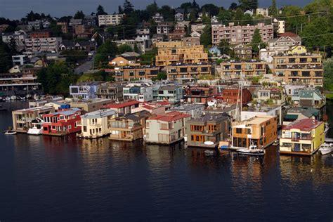 lake union houseboat living around lake union seattle neighborhoodlake union