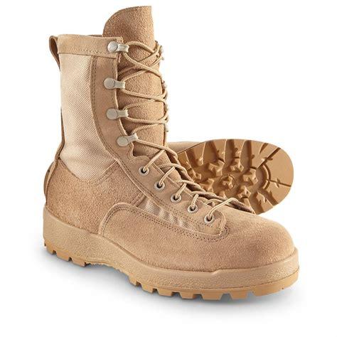 us army boots u s surplus s tex desert combat boots