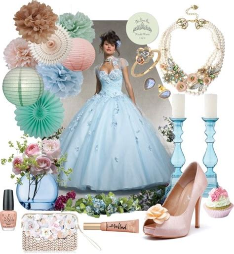 themes for a quinceanera in spring 62 best quinceanera polyvore sets images on pinterest