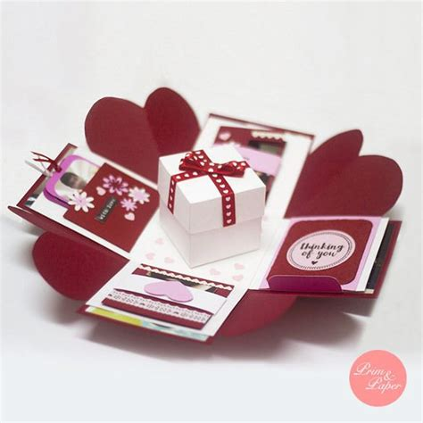 wedding exploding box template 677 best fancy folds and cuts for cards images on