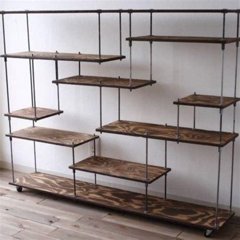 iron bookshelves best 25 iron shelf ideas on metal shelves