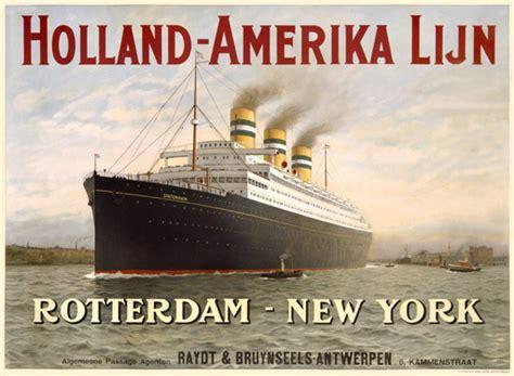 schip holland amerika lijn in rotterdam the antonelli rouse 1906