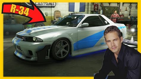 nissan skyline r34 paul walker gta 5 paul walker s nissan skyline r34 gta 5