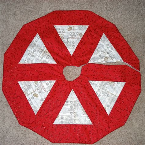 standard size christmas tree skirt by thewelldressedtree