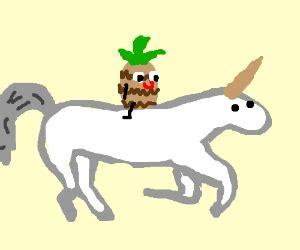 Pineaple Gamis Pony pineapple a unicorn