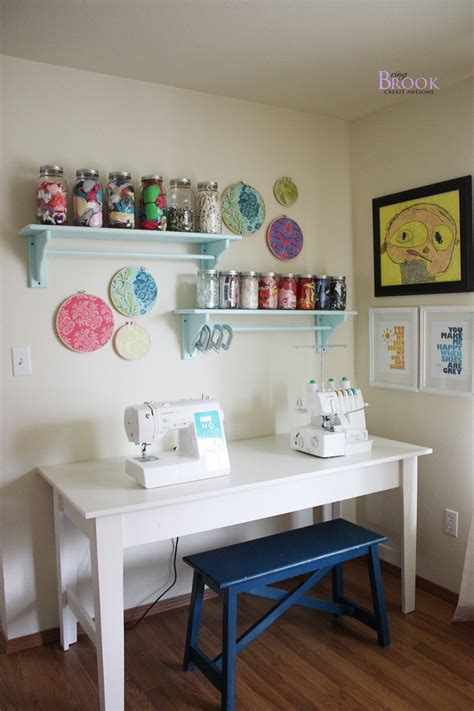 sewing craft rooms a dedicated sewing table office craft room