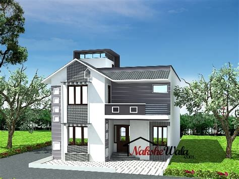 Indian Home Design News | 60475bhk duplex house design news jpg house elevation