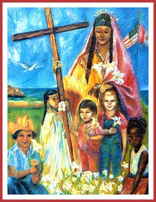 blessed kateri tekakwitha 07 14 holy cards for your inspiration blessed kateri tekakwitha