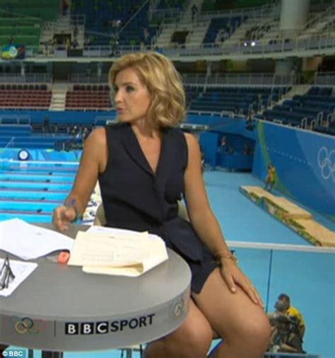 rio olympics wardrobe malfunction at rio 2016 free bbc s helen skelton wows in rio wearing daringly