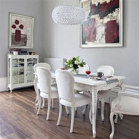 grey dining room  modern art victorian terrace house