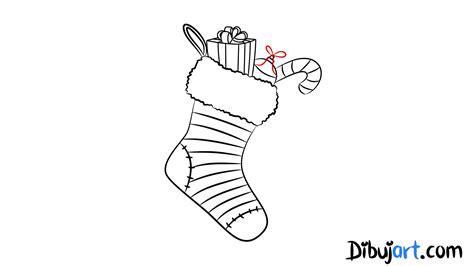 dibujos de navidad para colorear botas c 243 mo dibujar unas botas de navidad paso a paso dibujart com