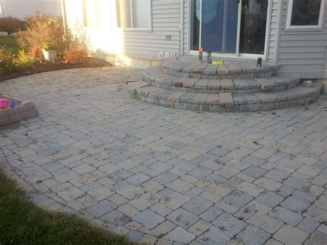 And Pavers Paver Patio Cost Patio Design Ideas