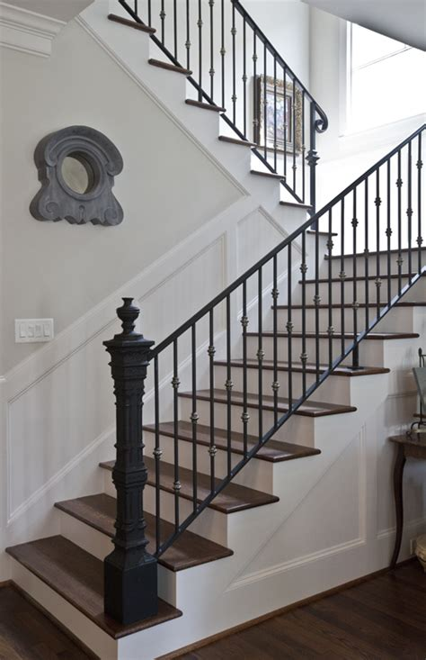 Antique Stairs Design Country Home Tour Parade Of Homes Newel Posts Stair Railing And Salvaged Decor