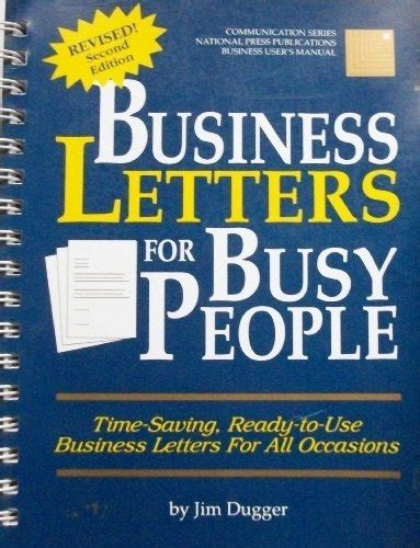 business letters for all occasions business letters for busy time saving ready to