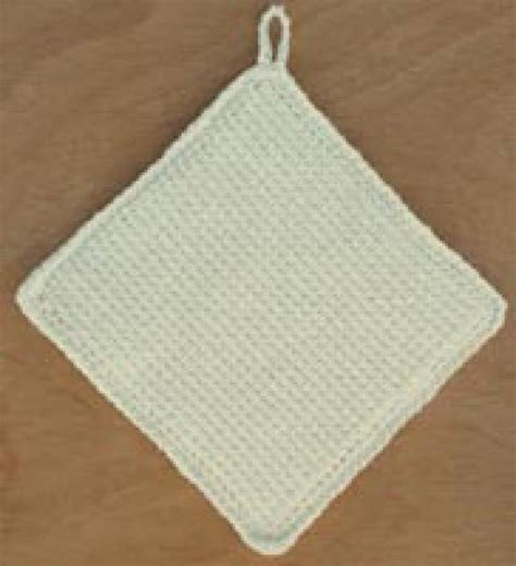 pattern for simple potholder potholders babies clothes and crochet projects on pinterest