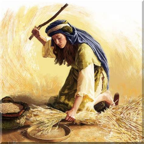 imagenes biblicas de rut sacra bibbia illustrata antico testamento rut naomi