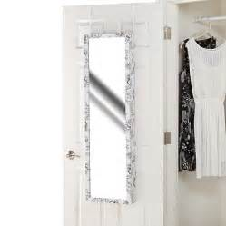 the door jewelry armoire with length mirror