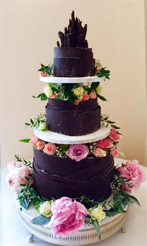 Chocolate Wedding Cakes Pictures by Wedding Cakes Chocolate Delores Page 2
