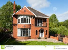 House For House by Typical English House Stock Photo Image 55461667