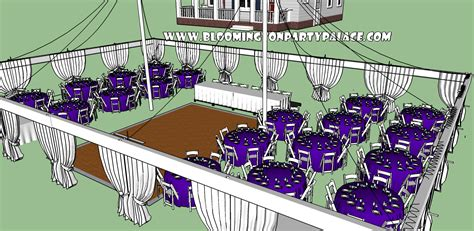 outdoor event layout software party palace outdoor wedding event and party rentals c