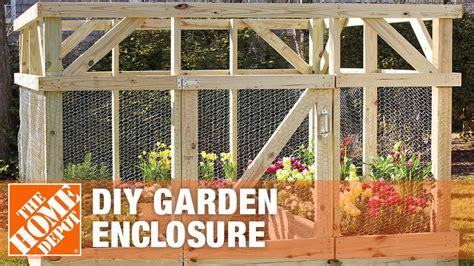 diy garden enclosure    animals