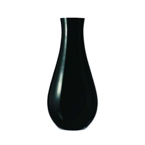 Black Vase by Nachtmann Grand Vase Black Tableware Uk Tableware
