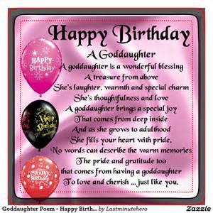 happy birthday goddaughter quotes quotesgram