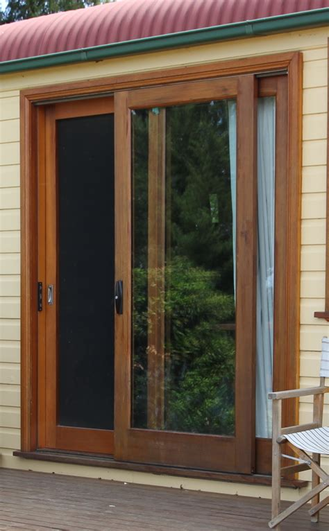 Wood Sliding Doors Exterior Flywire Doors S Le Of Our Tailor Made Fly Screen Doors