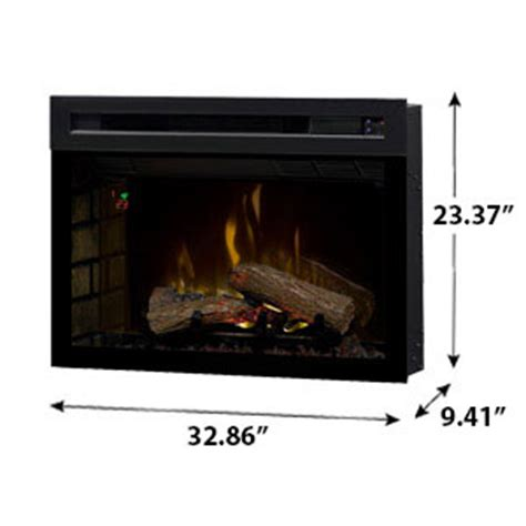 dimplex 33 in multi xd in electric fireplace