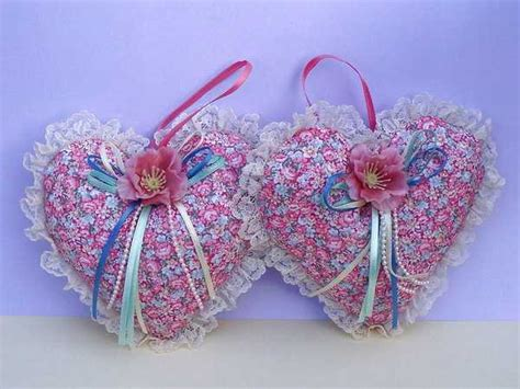 Handmade Hearts Crafts - handmade hearts decorations that make great gifts 50