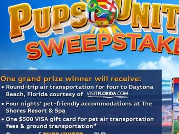 United Sweepstakes - emg s pups united dvd sweepstakes sweepstakes fanatics