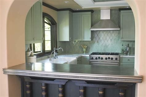 Pewter Bar Tops by Lavin Pewter Countertop Francois Co Kitchen